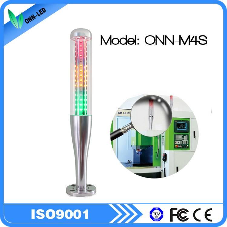 TUV CE m4s new design 24v dc ac tri colors led tower light warning alarm