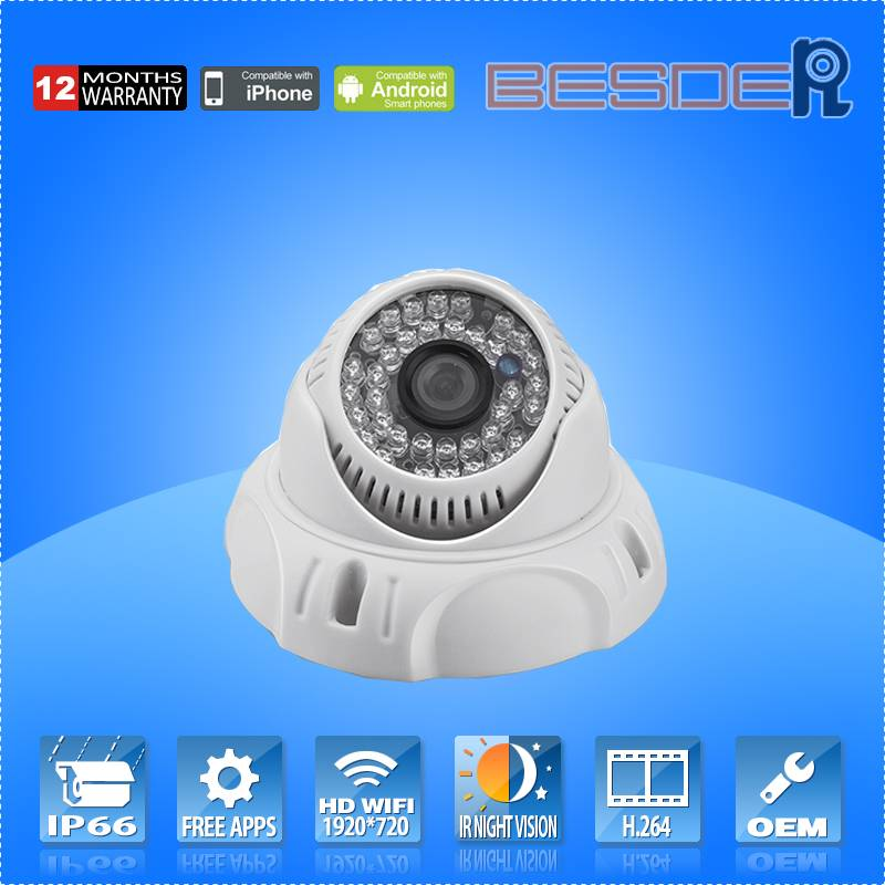 2015 Hot Selling HD 720p ONVIF Video Camera IP