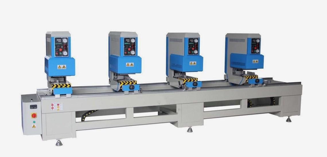 upvc doors and windows making machine UPVC four head seamless welding machine