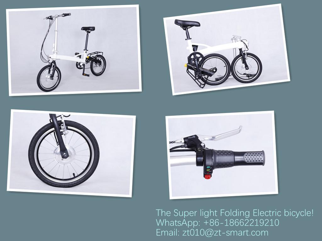 Light weight electric folding bike folding ebikes