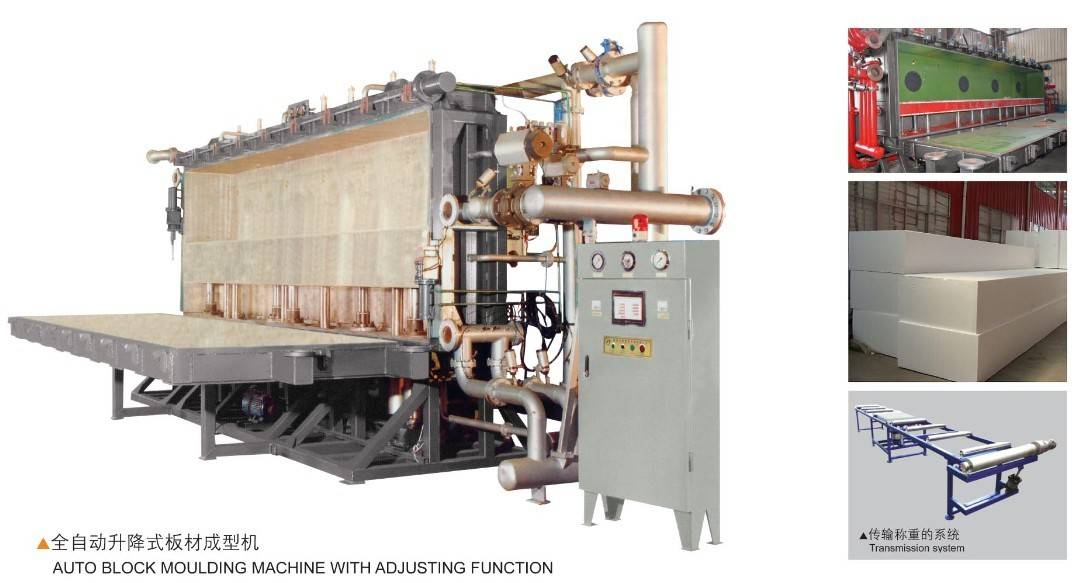 Auto Block Molding Machine with Adjusting Function