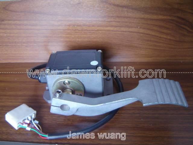 Electric Forklift Golf Cart Pedal Throttle Accelerator 0-5V