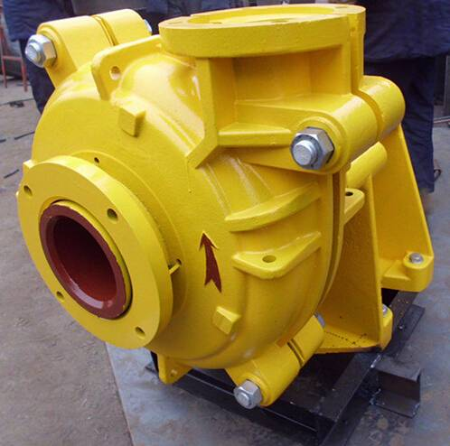 China Supplier Chemical Industry Rubber Volute Liner Coated Warman Slurry Pump