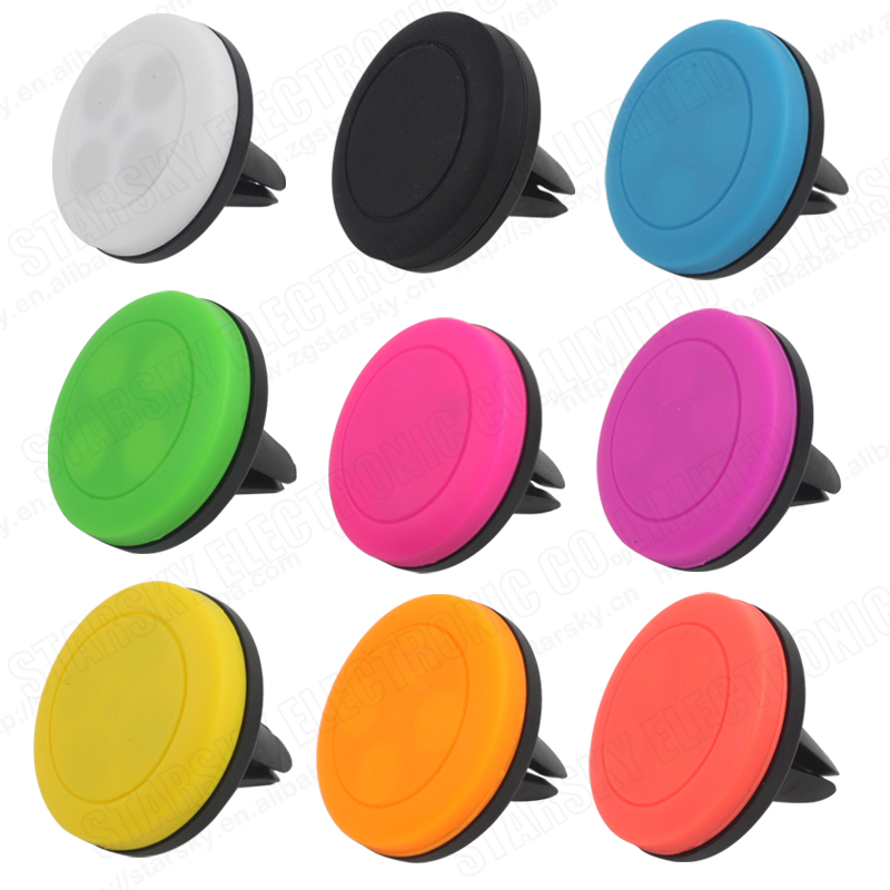 Dedicated Colorful Car Air Vent Magnetic Holder Mount for Cell Phone