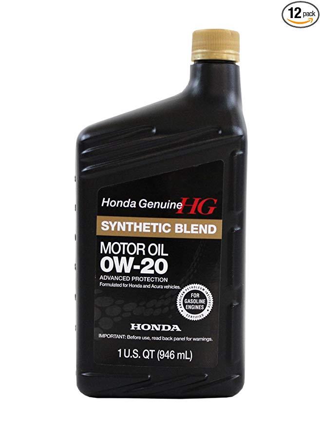Honda 0W-20 Full Synthetic Blend Motor Oil