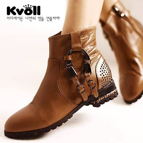 Kvoll Fashion Leather Women Shoes