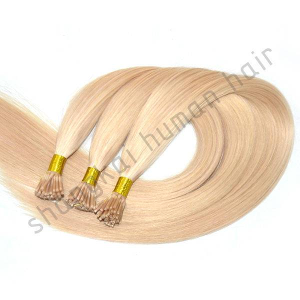 Pre Bonded Natural Human Hair Extension Keratin Hair Extension