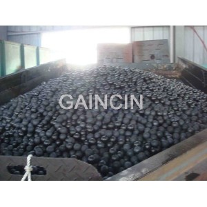 Oil-quenched alloyed cast chromium balls