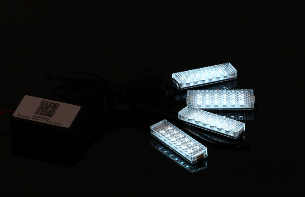 car interior decoration ambient light and accessories RGB fiber optic led atmosphere light