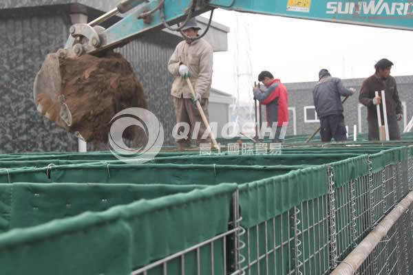 Natural disaster protection china hesco Barrier Qiaoshi