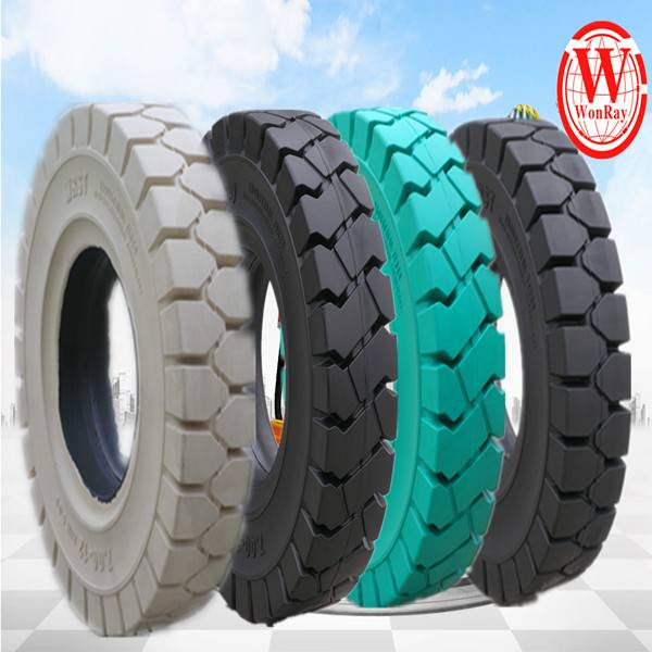Solid forklift tire 5.00-8 6.00-9 7.00-12 8.25-15 8.15-15