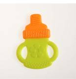 Silicone dual color teether