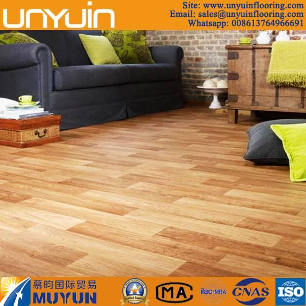 Home Used Wood Pattern Vinyl Tile Flooring