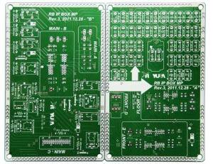 FR4 2 Layers Rigid Circuit Board in Vacuum Packing