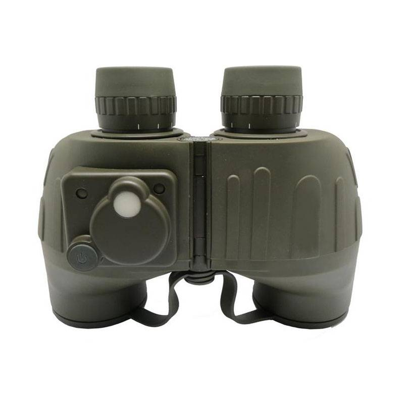 military 7x50 bak4 prism military binoculars with compass