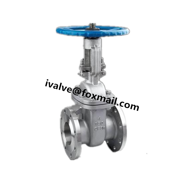 API 6D Cast Steel Gate Valve
