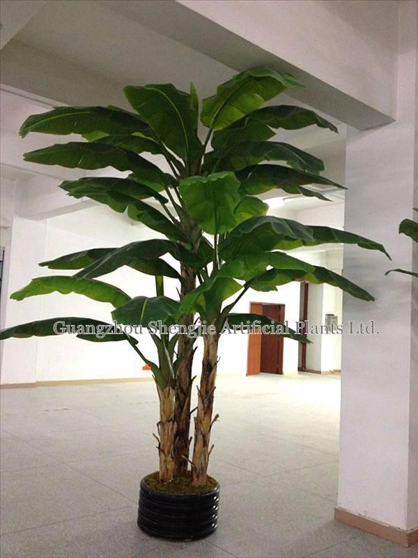 new artificial banana tree(for indoor&outdoor decoration)