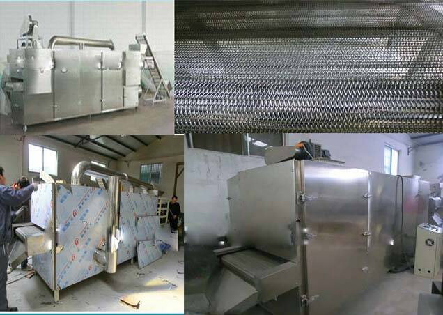 Continous Belt Three Layer Food Dryer Machine For Pasta Macaroni
