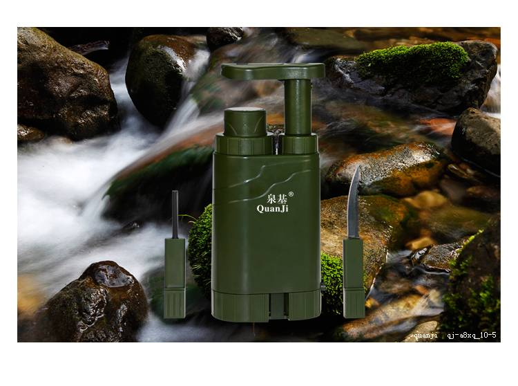 HOT SALE! NEW TYPE MINI PORTABLE PLASTIC OUTDOOR WATER PURIFIER /
