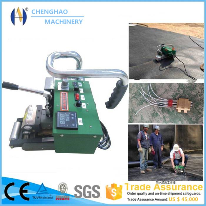 Trade assurance 1800W Geomembrane welding machine