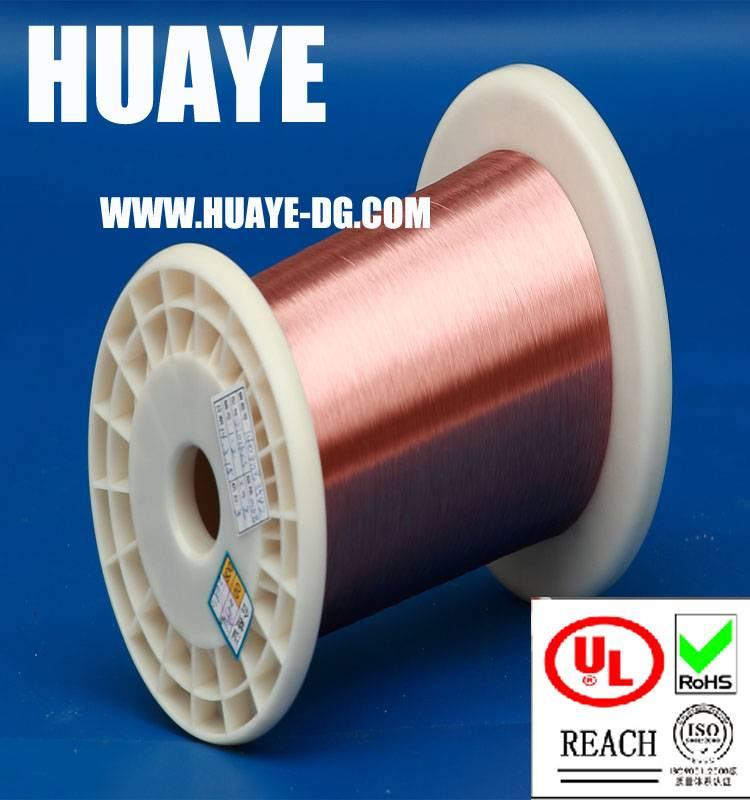 High quality electronic UL RoHS Self bonding solderable polyurethane 155 degree round enameled coppe