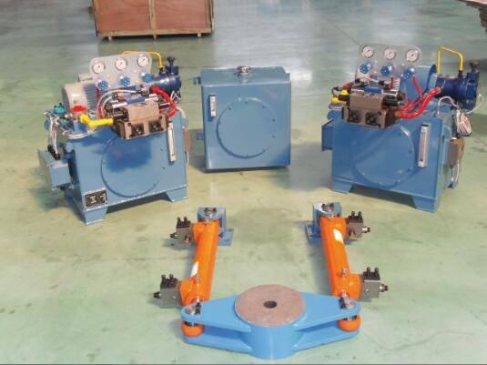 Marine Oscillating Cylinder Type Steering Gears