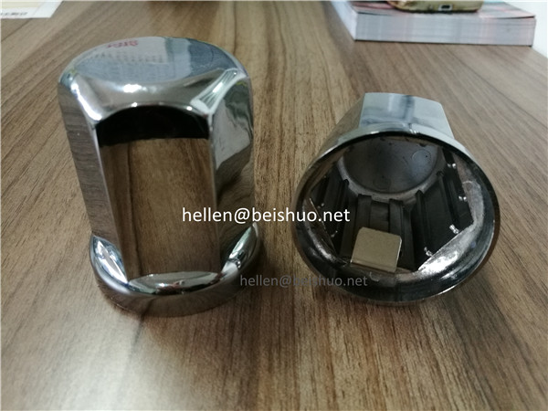 32mm/33mm wheel caps wheel cover china hubcaps Heavy Duty Chrome Plastic Hex nut cover for car acces