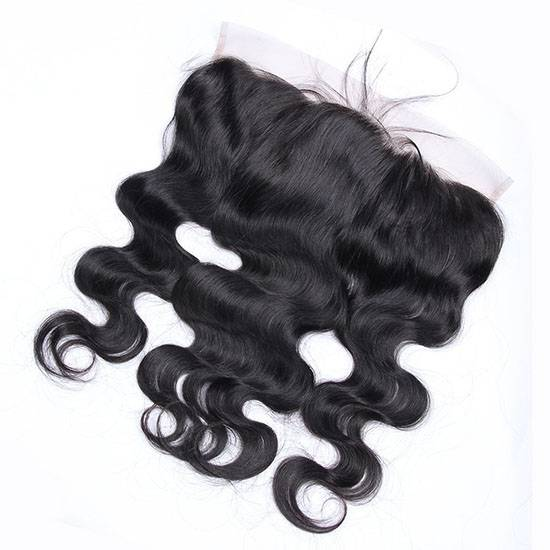 body wave swiss lace frontal 13*4inch virgin remy