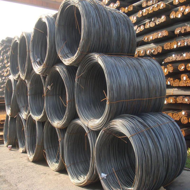 6.5mm 8mm 10mm 12mm wire rods steel mill supplier China's wire rods
