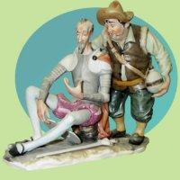Don Quijote de la Mancha & Sancho Panza