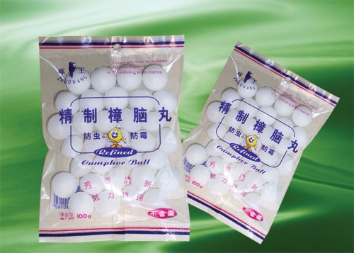 100g/ bag  Refine Camphor Ball-8016