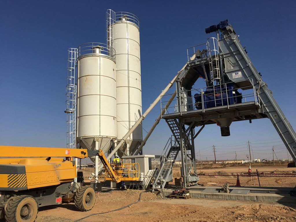 F-100 (100m3/h) Fast Installing Stationary Plant
