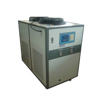 plastic air cooled water chiller