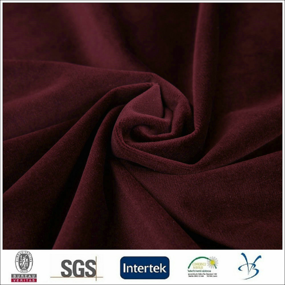 hot sales italian velboa plush velvet suit fabric