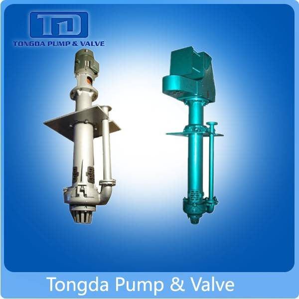 Low price abrasion-proof centrifugal vertical slurry pump