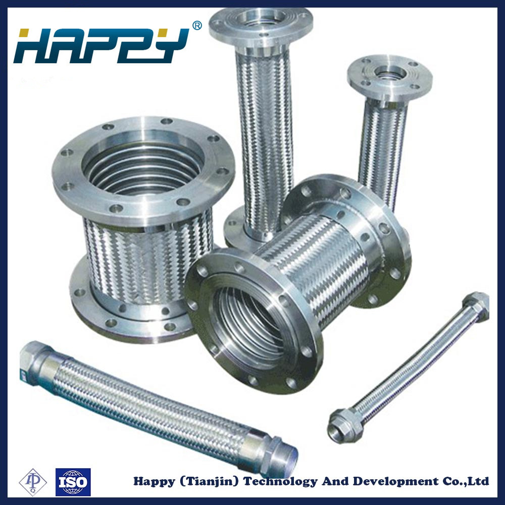 Stainless Steel Braided High Pressure Metal Pipe Assembly