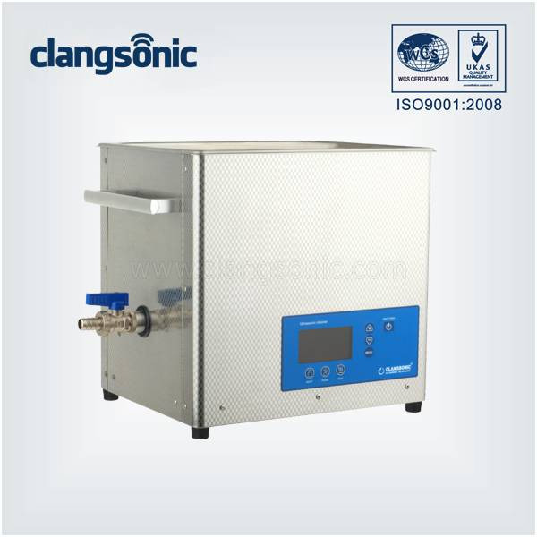 10.8L Mechanical Professional Stainless Steel Ultrasonic Wave Cleaning Equipment
