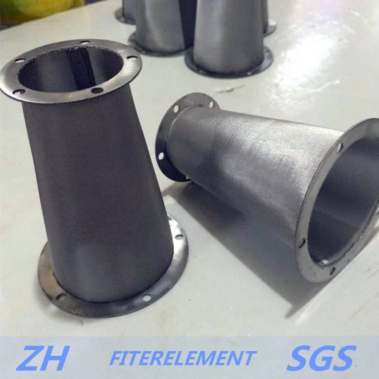 304 316 folding cylinder filter