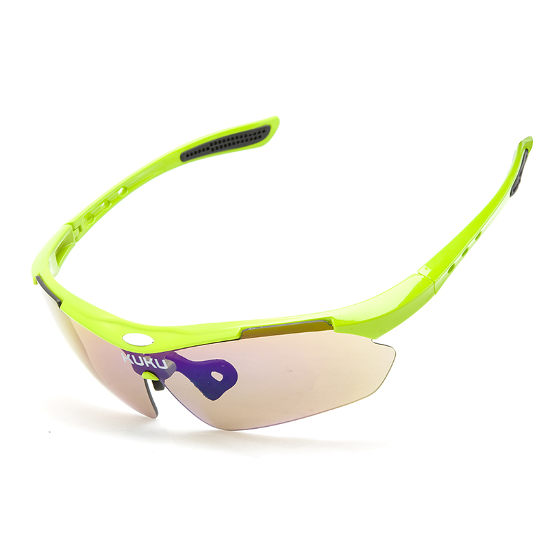 Factory Top Sales Unbreakable UV400 Bicycle Riding Cycling Sport Myopia Sunglasses With RX Insert