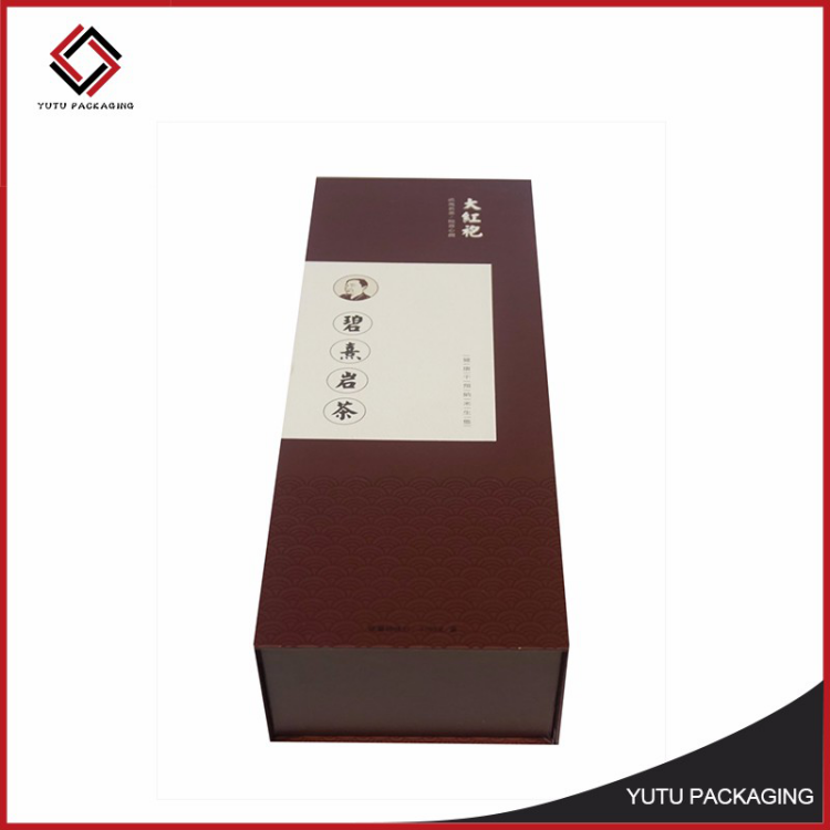 custom rigid cardboard carton box for packing