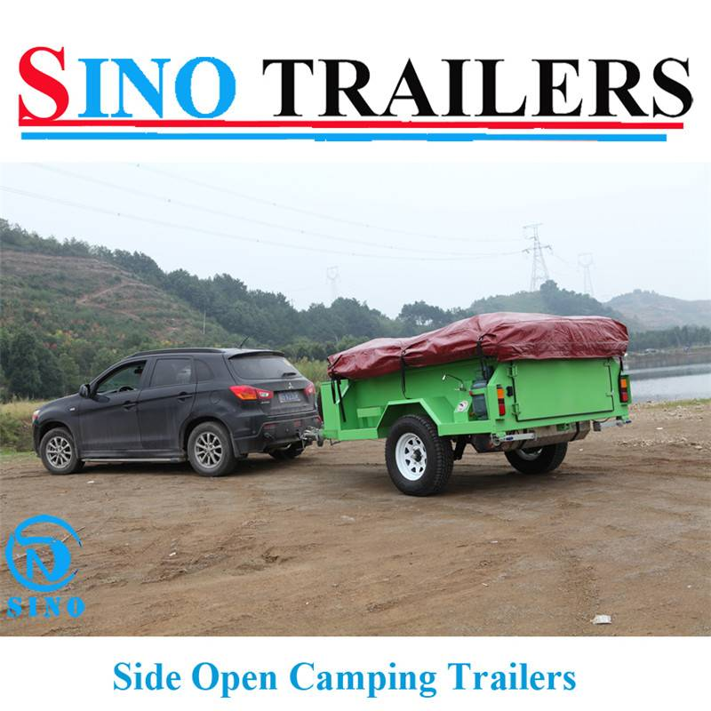 Heavy Duty Camping Box Trailers
