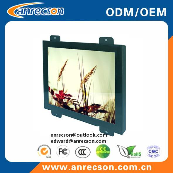 "10.4"" industrial PCT capacitive touch screen LCD monitor"