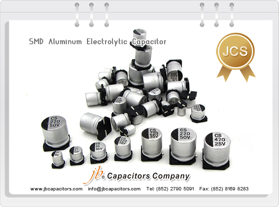 JCS - 2000H at 85°C SMD Aluminum Electrolytic Capacitor