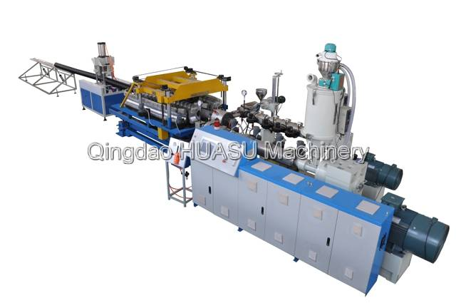 SBG200 HDPE/PP Double Wall Corrugated Pipe Extrusion Line