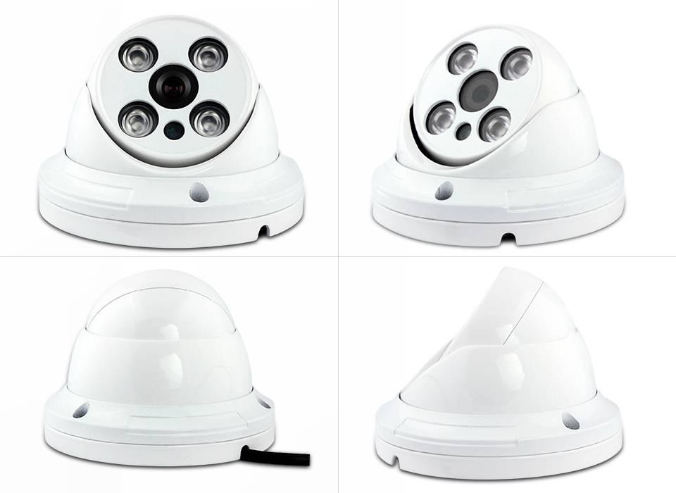 infraded 1/3 Cmos Sensor 700TVL Analog dome CCTV camera