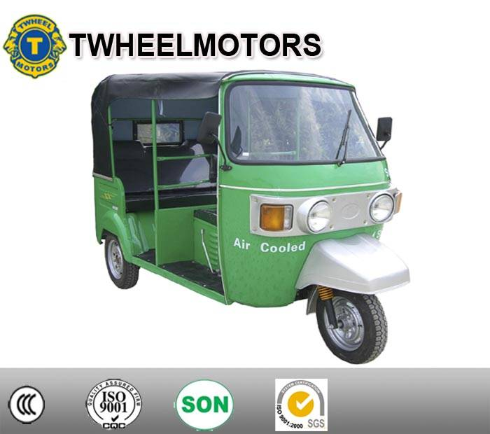 Bajaj Passenger Tricycle With Center Engine, Bajaj Tricycle with Center Engine, Three wheel