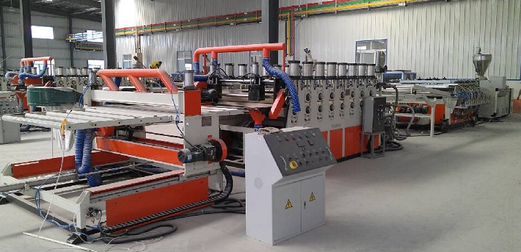 Board Extrusion Line-PVC Construction Template Extrusion Line