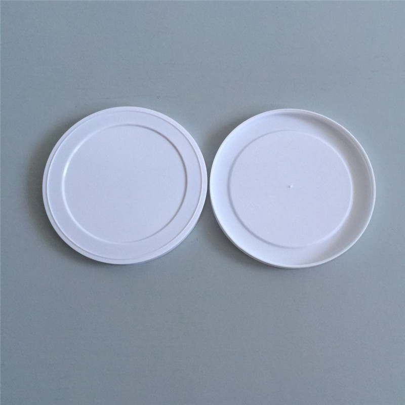 Round plastic lids for cans plastic covers