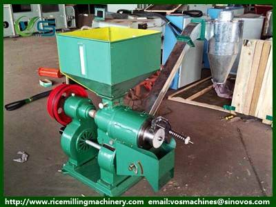 High working efficiency rice mill machine, rice husker machine hot sale