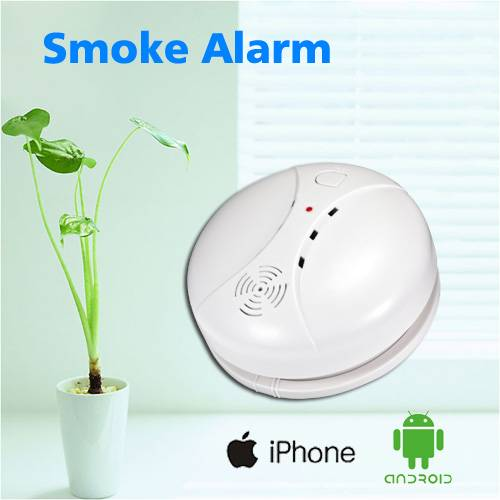 Aixinke wireless CE RoSH approval GSM alarm smoke detector